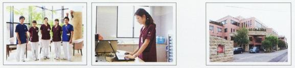 看護師とスクラブの集合写真