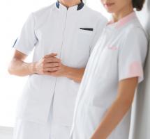 医療関係者向け 半袖 ジャケット 248-21・23・28 男女兼用