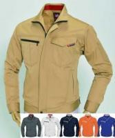 作業服 長袖ジャケット/レディースシルエット対応/ 6081/カラー(全6色)