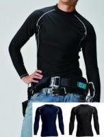 長袖Tシャツ風作業服/クールコンプレッション/4013/カラー(全3色)